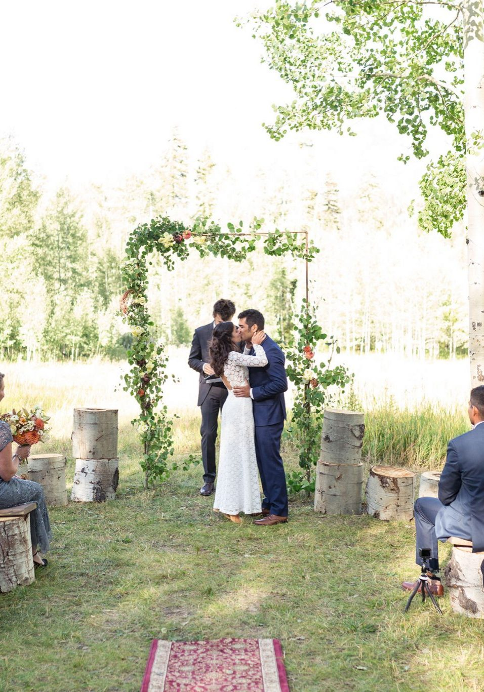 Mountain Ceremony at Silverpick Lodge, Durango, Colorado
