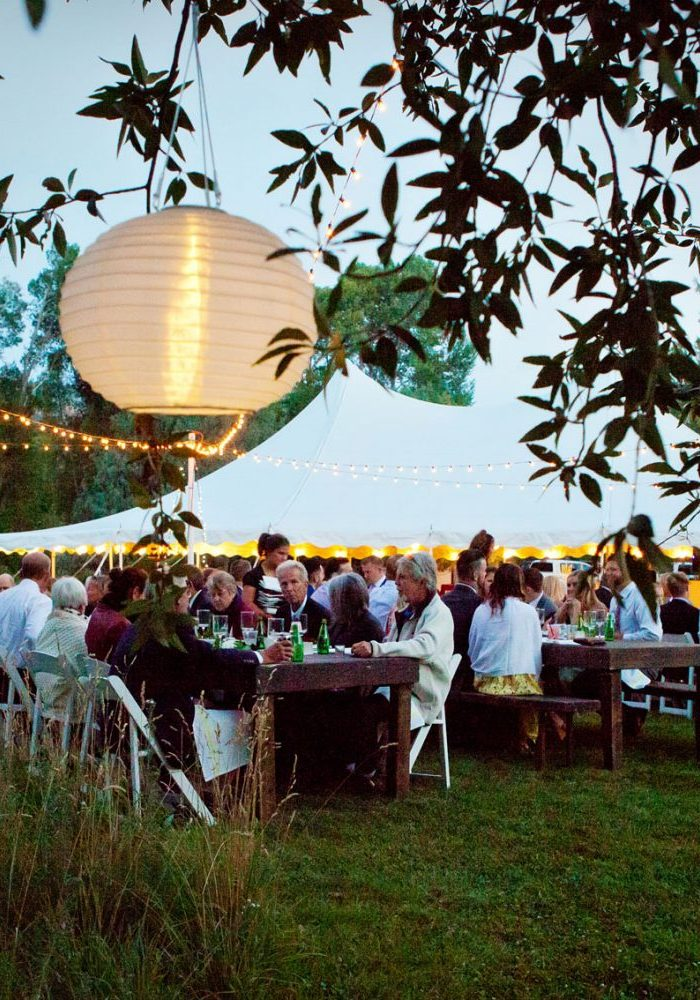 A Backyard wedding in Hermose, Colorado